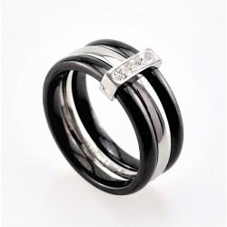 Brede Ring van Zwart...