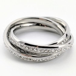 3-in-1 Roestvrijstalen Ring...
