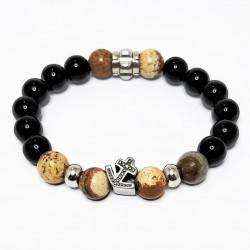Stenen Armband van Onyx en...