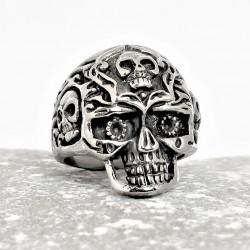 Roestvrijstalen Skull Biker...