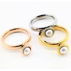 3-Stks-Set Stalen Ringen...