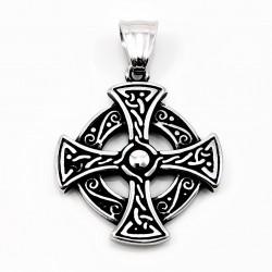 RVS Keltisch Kruis Hanger