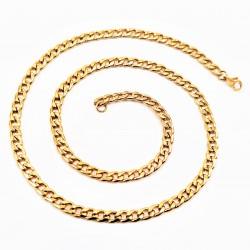 50 cm x 7,5 mm RVS Gouden...