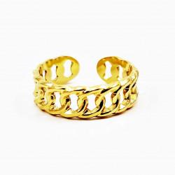 Verstelbare Dames Ring 14 K...