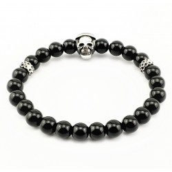 Gedetailleerd Skull Armband...