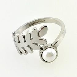 Roestvrijstalen Blad Ring...