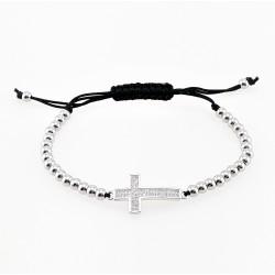 Roestvrijstalen Kruis Armband