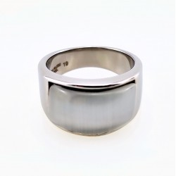 Roestvrijstalen Ring met...