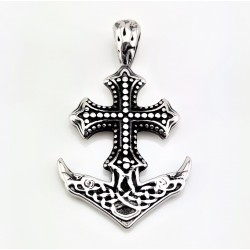 RVS Anker Hanger met het Kruis