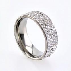 Strass Ring van Zilveren...