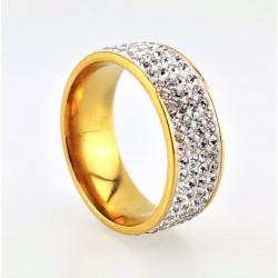 Strass Ring van...